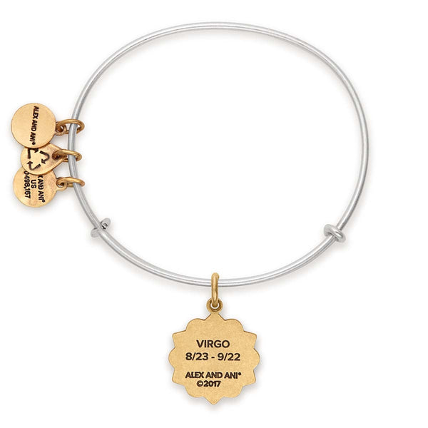 Virgo Zodiac Charm Bangle