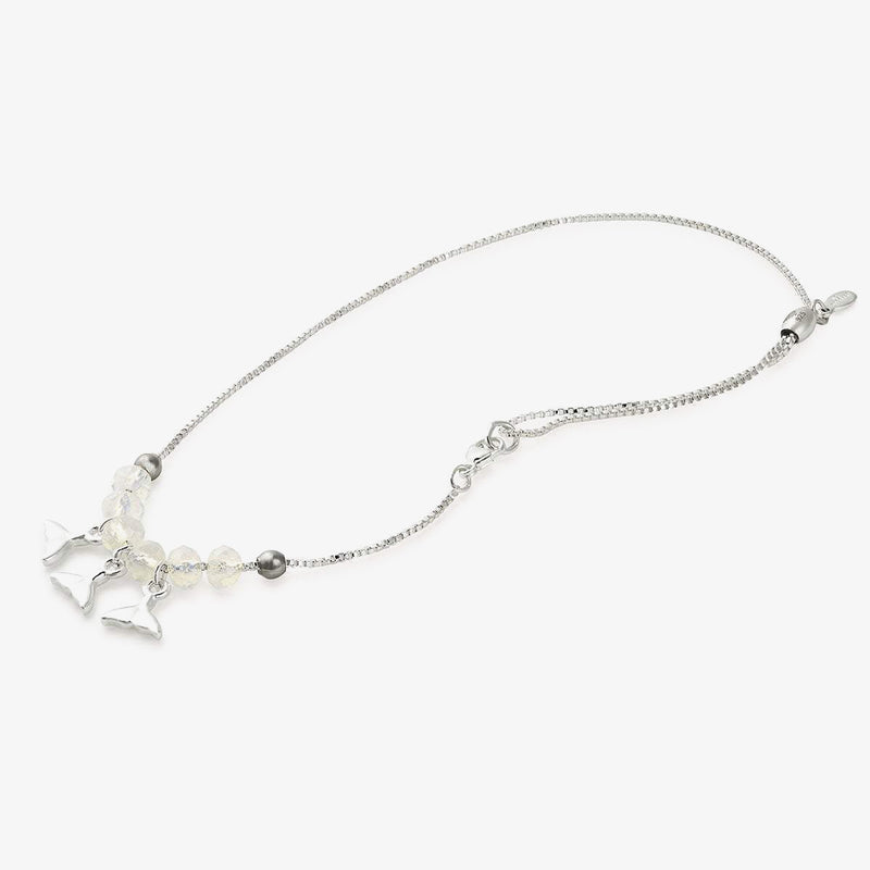 Whale Tail Charm Anklet
