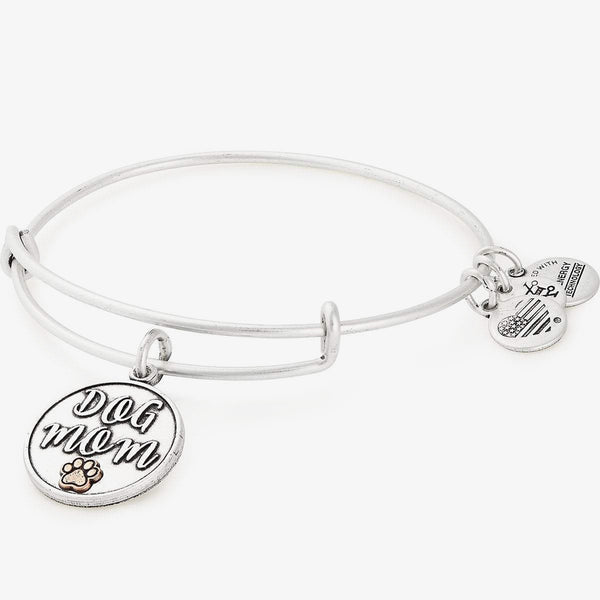 Dog Mom Charm Bangle