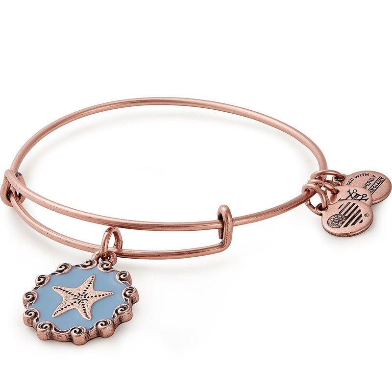 Starfish Charm Bangle, Color