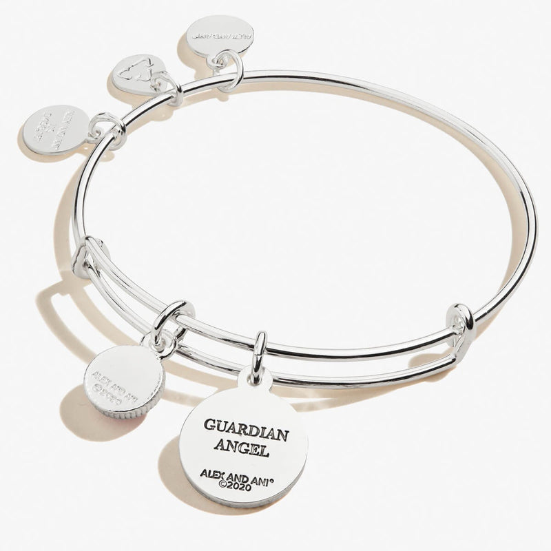 Guardian Angel Duo Charm Bangle
