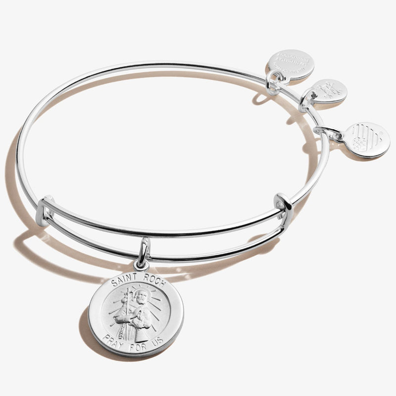 Saint Roch (Rocco) Charm Bangle