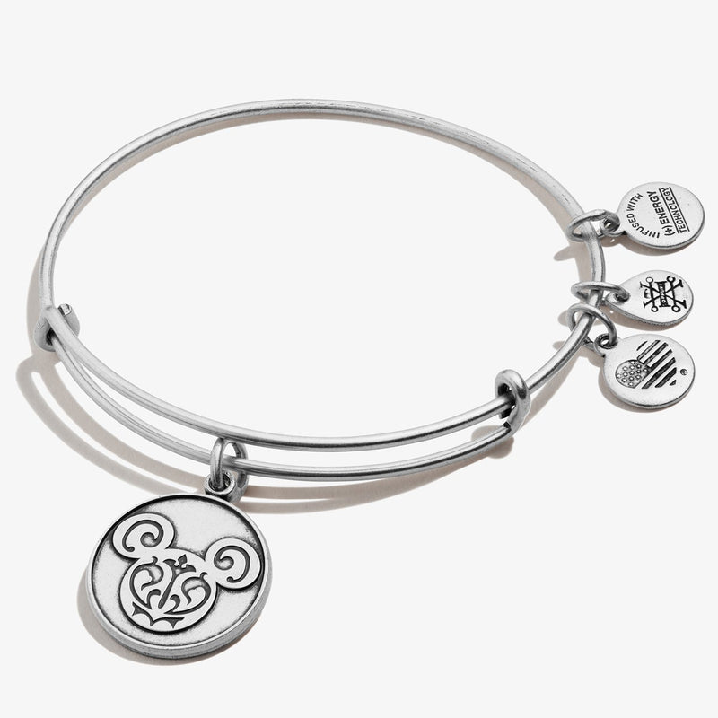 Disney® Mickey Mouse Filigree Charm Bangle