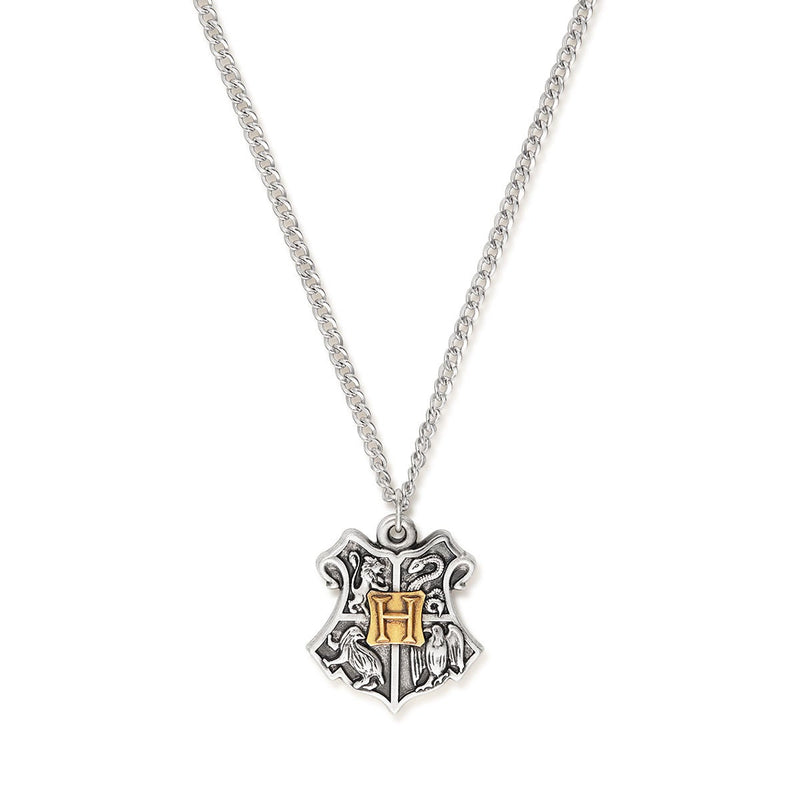Harry Potter™ Hogwarts Charm Necklace, Two Tone