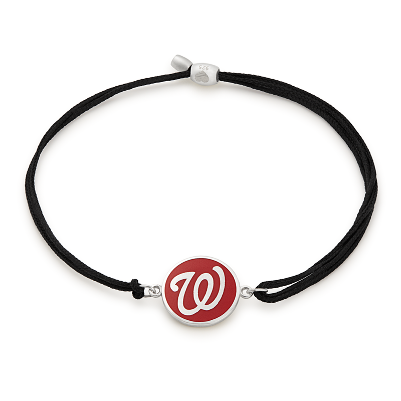 Washington Nationals MLB Charm Pull Cord Bracelet