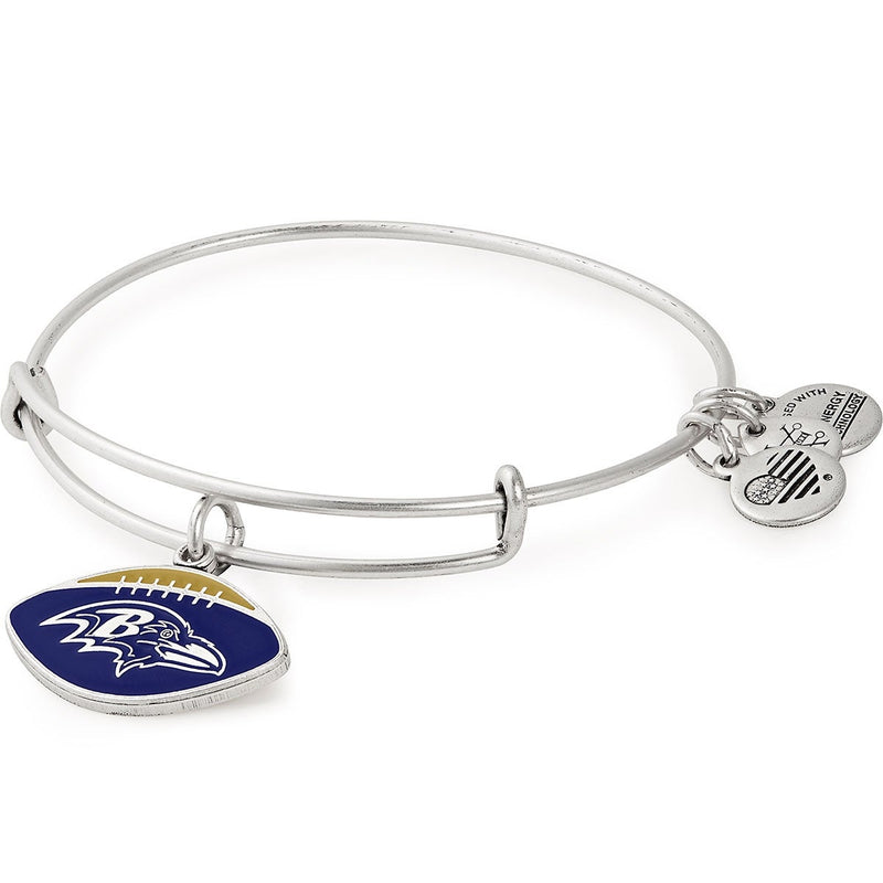 Baltimore Ravens NFL Charm Bangle