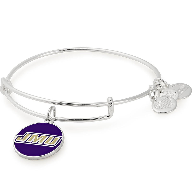James Madison University Logo Charm Bangle