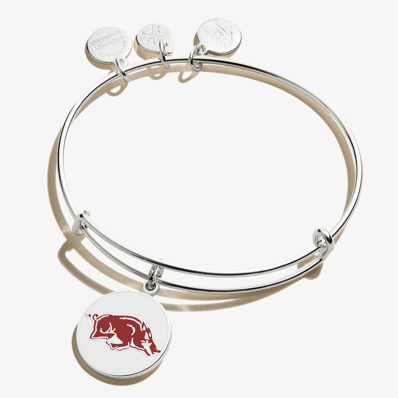 University of Arkansas Logo Charm Bangle
