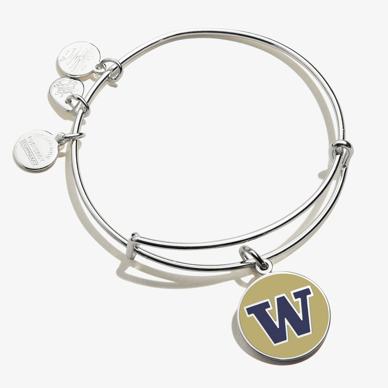 University of Washington Logo Charm Bangle