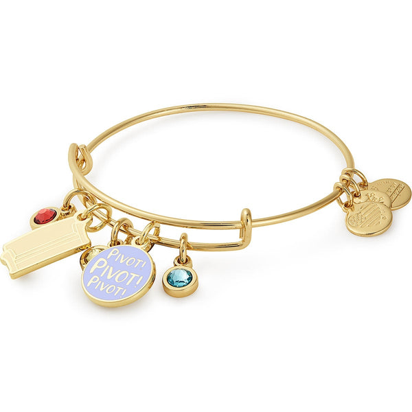 Friends Couch + 'Pivot' Cluster Charm Bangle