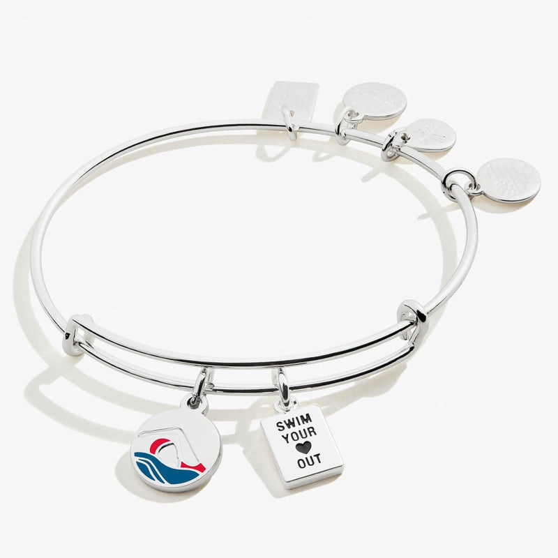 Team USA Swimming Duo Charm Bangle