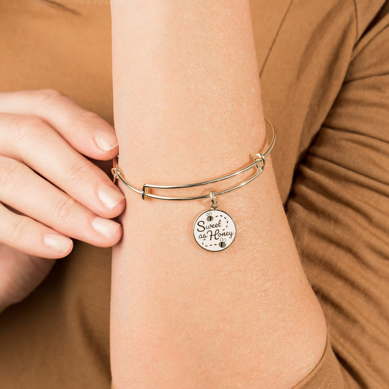 'Sweet As Honey' Charm Bangle