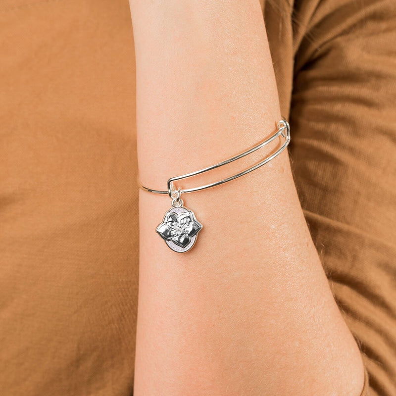 Wildflower Charm Bangle