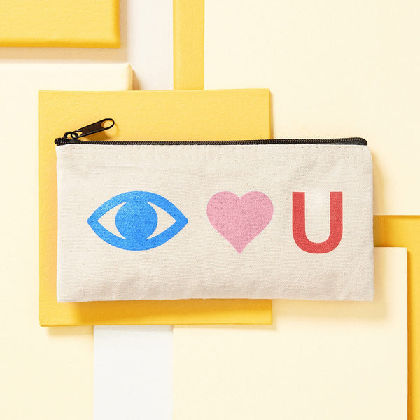 Eye Heart U Pouch