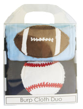 Load image into Gallery viewer, Dyed Burp Duo - Football & Baseball