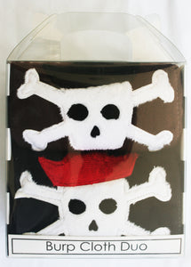 Dyed Burp Duo - Pirate Skull