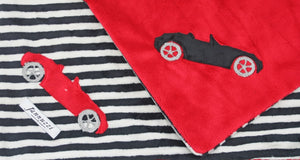 Convertible Car Minky Blanket