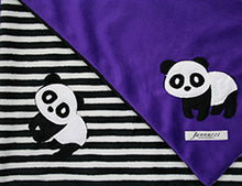 Load image into Gallery viewer, Panda Minky Baby Blanket