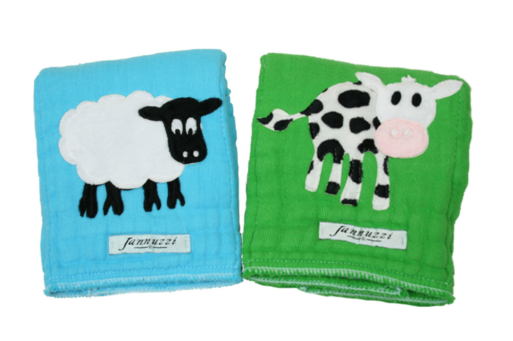 Dyed Burp Duo - Sheep & Cow