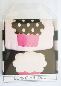 Dyed Burp Duo - Cupcakes