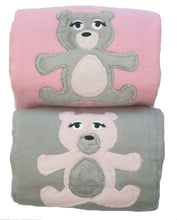 Load image into Gallery viewer, Dyed Burp Duo - Snuggle Bear