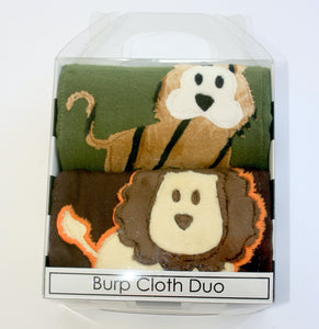 Dyed Burp Duo - Lion, Tiger