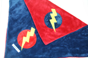 Super Hero Minky Blanket