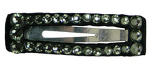 "Load image into Gallery viewer, Swarovski Crystal 2"" Snap Clip Barrette"
