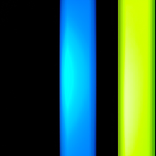 Load image into Gallery viewer, 2 Color Strobe: Cyan/Lime Green