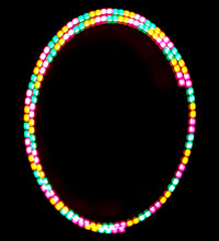 Load image into Gallery viewer, 3-Color Stutter Strobe: Aqua/Yellow/Pink