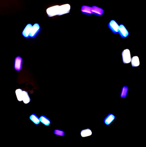 3-Color Hyper Strobe: Blue/White/Purple