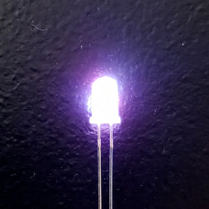 3 Color Strobe: Coral/Purple/White
