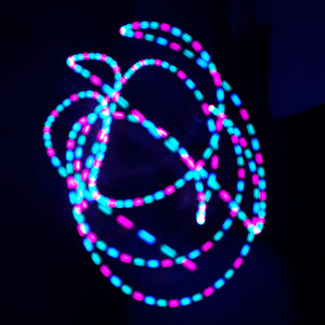 3 Color Strobe: Coral/Turquoise/Blue