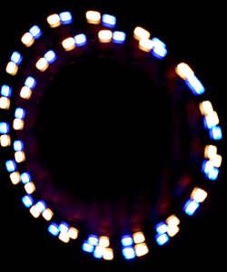 2-Color Strobe: Gold/Blue