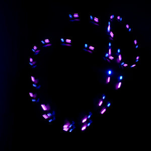 3 Color Strobe: Hot Pink/Sky Blue/Dark Red