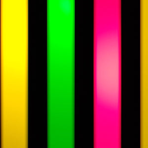 3-Color Strobe: Lemon Yellow / Magenta / Green