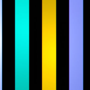 3 Color Strobe: Lemon Yellow/White/Turquoise