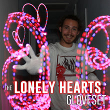 "Load image into Gallery viewer, ""Lonely Hearts"" Gloveset"