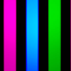 3-Color Strobe: Magenta/Blue/Green