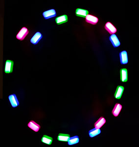 3-Color Hyper Strobe: Pink/Blue/Green