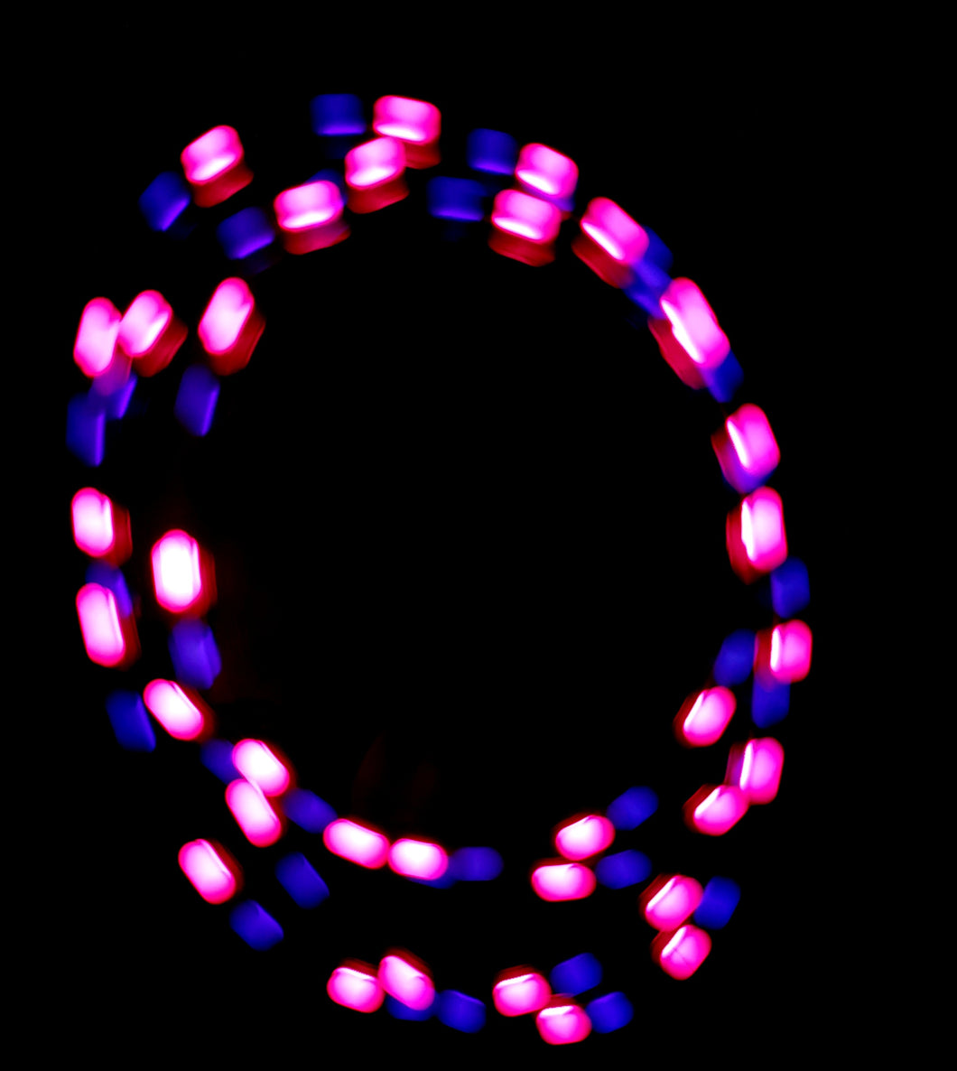 2-Color Strobe: Pink/Purple