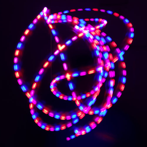 3 Color Strobe: Pink/Red/Blue