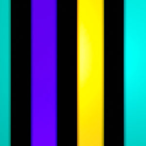 3-Color Strobe: Purple/Lemon Yellow/Turquoise