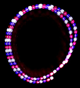 3-Color Strobe: Purple/White/Pink
