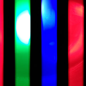 3 Color Strobe: Red/Blue/Green