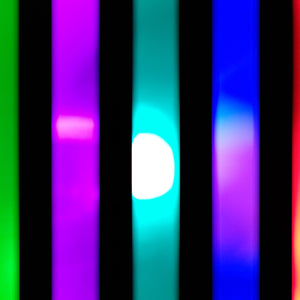 6 Color Strobe: Red/Yellow/Green/Pink/Turquoise/Blue