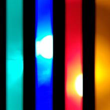 Load image into Gallery viewer, 6 Color Strobe: Red/Yellow/Green/Pink/Turquoise/Blue