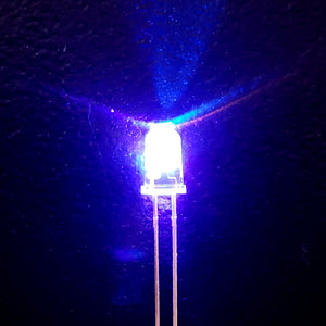 3-Color Strobe: Silver/Violet/Orange-Yellow