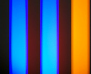 3-Color Stutter Strobe: Violet/Orange/Blue