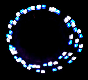 3-Color Strobe: White/Blue/Aqua
